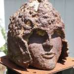 HELENA LUKASOVA, Head, 2001, Cast Iron, 13""