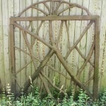 "DAVID P. RUDDY, Gate, 2009, Cast Iron, 30"" x 42"" x 3"""
